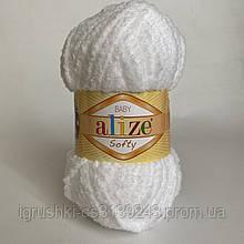 Alize Softy (Ализе Софти) 55 Белый