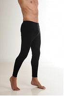 Термобелье мужское шерстяное (штаны) черное 75% шерсти