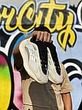 Женские кроссовки Adidas Yeezy Boost 700 V3 в стиле Адидас Изи Буст Белые (Реплика ААА+), фото 5