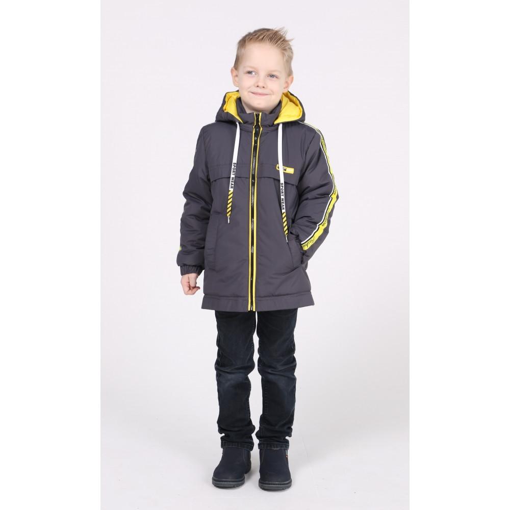 Дитяча куртка демісезонна для хлопчика р. 104-122 від 4 до 7 років