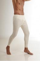 Термобелье мужское шерстяное (штаны) белое 75% шерсти, фото 1