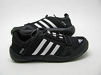 Кроссовки Adidas daroga черные / мужские кроссовки / сетка / текстиль