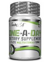 Витамины и минералы BioTech USA One a Day  100tabs