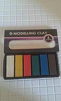 Пластилин Colibri 6 цветов 120 гр. Modelling clay