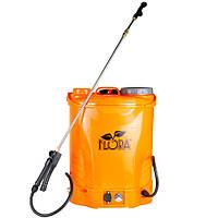 Обприскувач акумуляторний 16л FLORA (5001524)