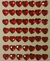 Клеевой камень Сердце ( 1 см,48 шт) 13М147-8R