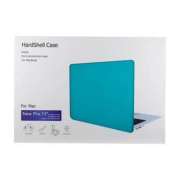 Чехол накладка для Apple Macbook Pro 13.3 2020 цвет Sapphire blue