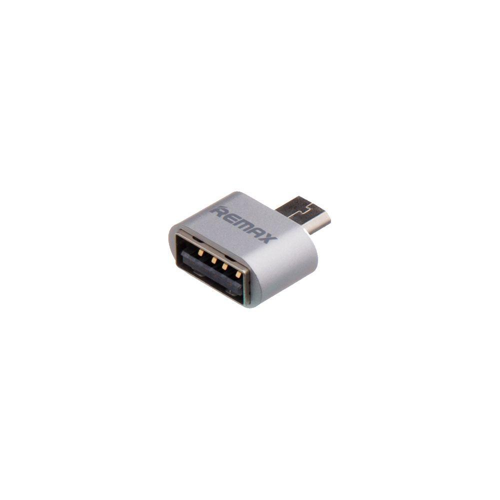 Переходник OTG Remax RA-OTG USB - Micro USB Серый