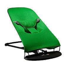 Шезлонг-гойдалка BABY Balance Soft SBT Group Зелений (BBS-07-00)