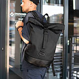 Рюкзак чоловічий міської роллтоп рол SEGA, фото 3