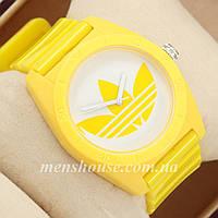 Бюджетные часы Adidas Log 0927 Yellow\White