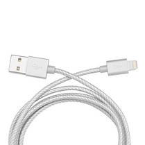 USB кабель Belkin Metallic с разъемом Lightning 1.2 м., фото 2