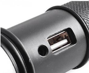 Фонарь Police 12v U8626-XPE, zoom, USB power bank, фото 2