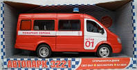 """Машина инерционная Автопарк """"Пожарная охрана"""" 9098-А Joy Toy"""