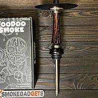 Кальян шахта Voodoo - Smoke Down (Вуду Смок), без колби Black-Red (чорно-червона)