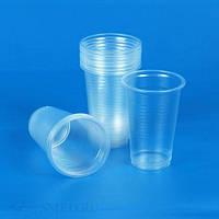 Стакан пластиковый 100 мл для горячих и холодных напитков прозрачный