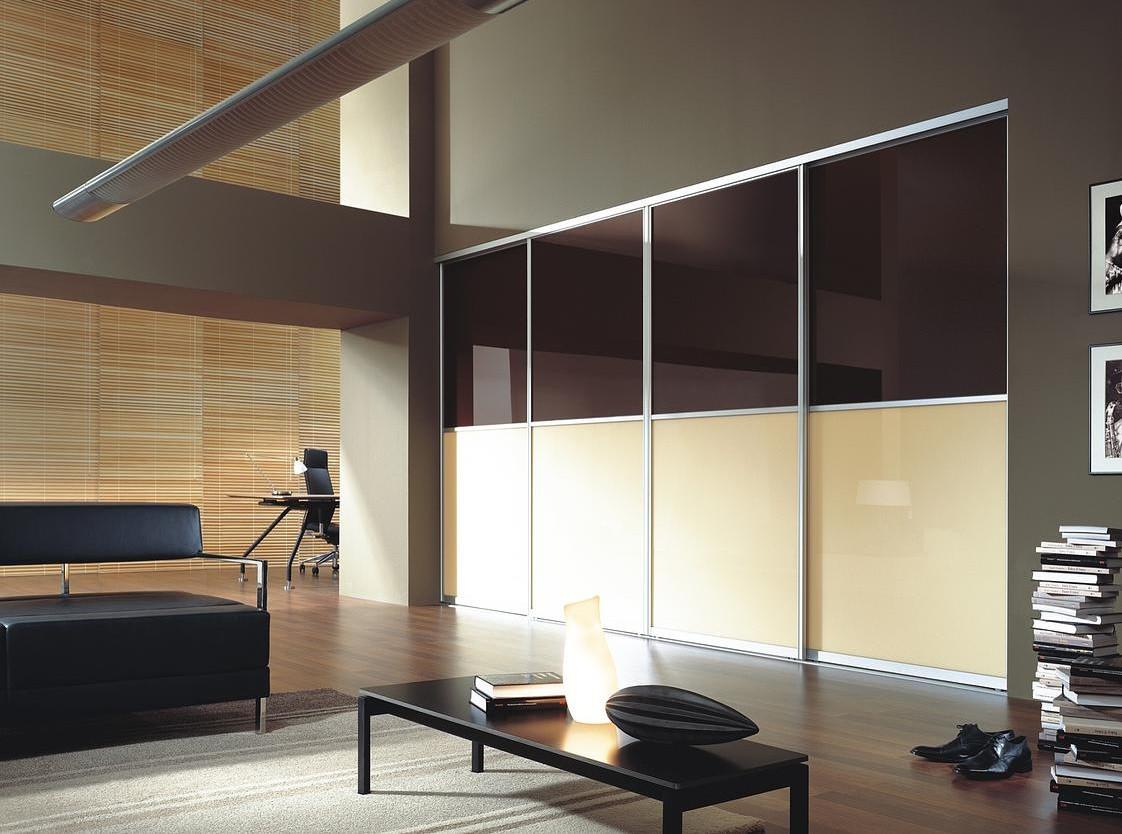 Шкаф купе на заказ Premium стекло Lacobel