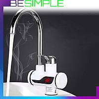 Проточный водонагреватель Dеlimano / Электро-нагреватель воды! Хит продаж
