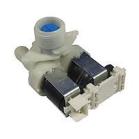 Клапан подачи воды для стиральных машин бочки спарены 2/90