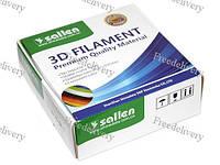 Филамент пластик 3D-принтера PLA 1кг 1.75мм белый