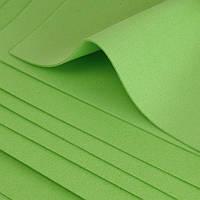 Фоамиран листовой салатовый, 50/50 см