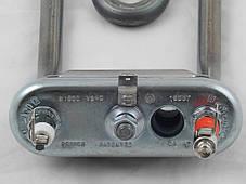 Тэн для стиральных машин Ariston/Indesit 1800W L=190 мм. гнутый с отв. (Thermowatt) (C00088399), фото 3
