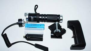 Фонарь Police Q9846-XPE, под руж., вынос. кнопка, лазер, фото 2