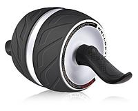 Тренажер колесо для пресса, ролик для пресса с возвратным механизмом | колесо для мышц пресса! Хит