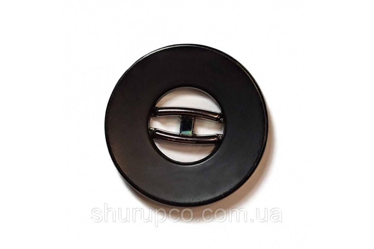 Ґудзик на два удари 25 мм №136-1(Bni) (100 шт)