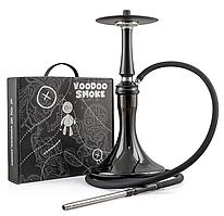 Кальян Voodoo Smoke Down - Black (Вуду Смоук Даун, чорний) з колбою
