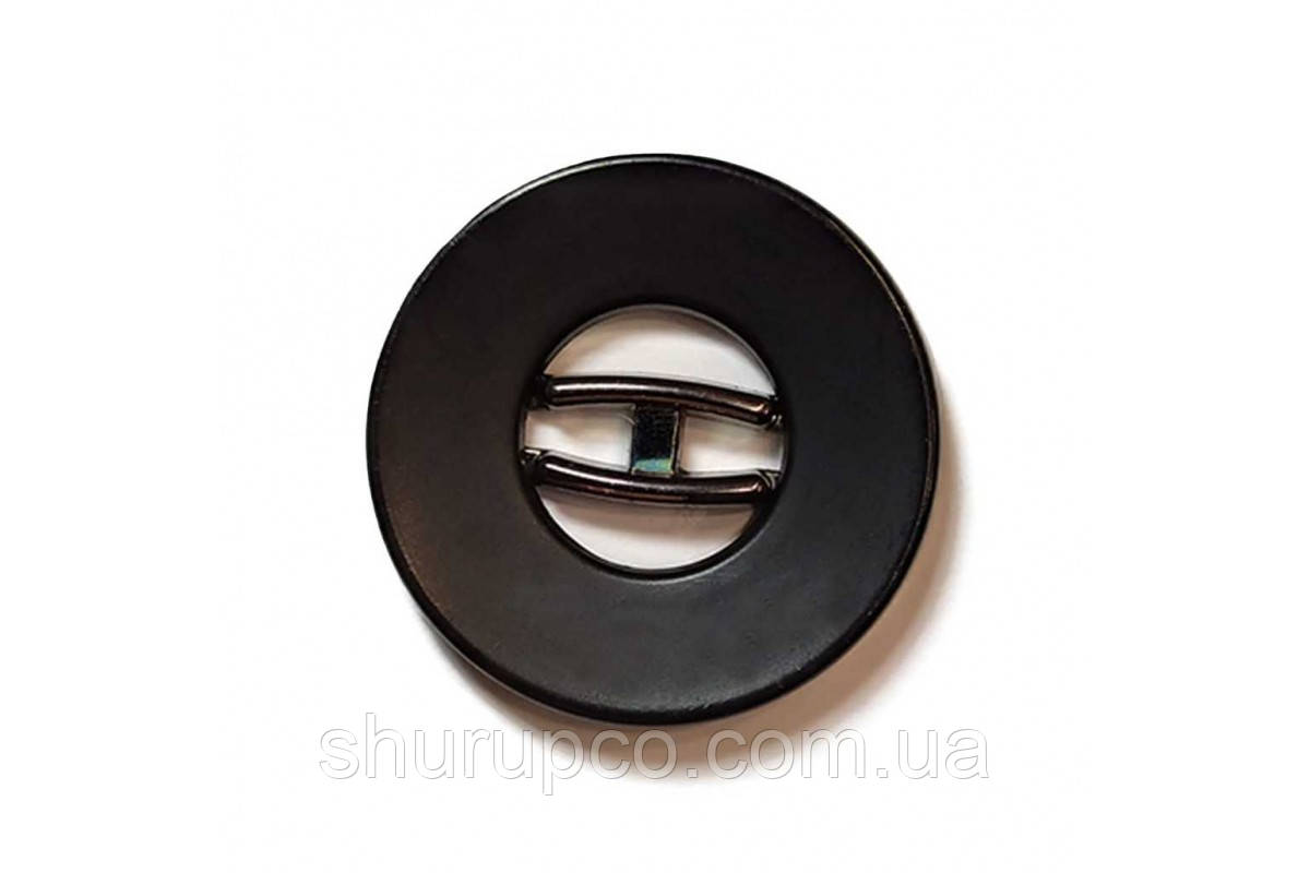 Пуговица на два удара 30 мм №136-1(Bni) (100 шт)