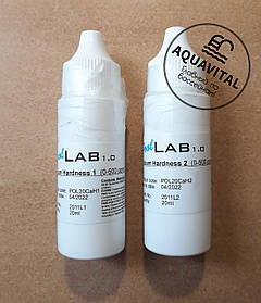 Жидкость Calcium Hardness для теста на кальциевую жёсткость, 2 реагента в комплекте