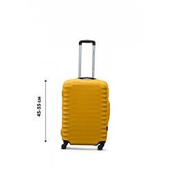 Чохол на валізу з дайвінгу S маленький жовтий