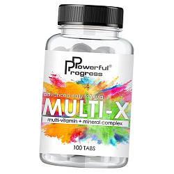 Вітаміни Multi-X 100 таб, Powerful Progress