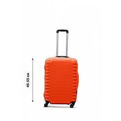 Чохол на валізу з дайвінгу S маленький жовтогарячий