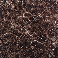 Керамогранит Мрамор dark brown    60x60