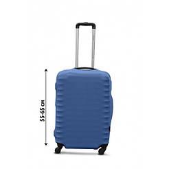 Чохол на валізу з дайвінгу М середній джинс