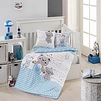 Комплект детского постельного белья из бамбука First Choice Baby в кроватку ( для мальчика)