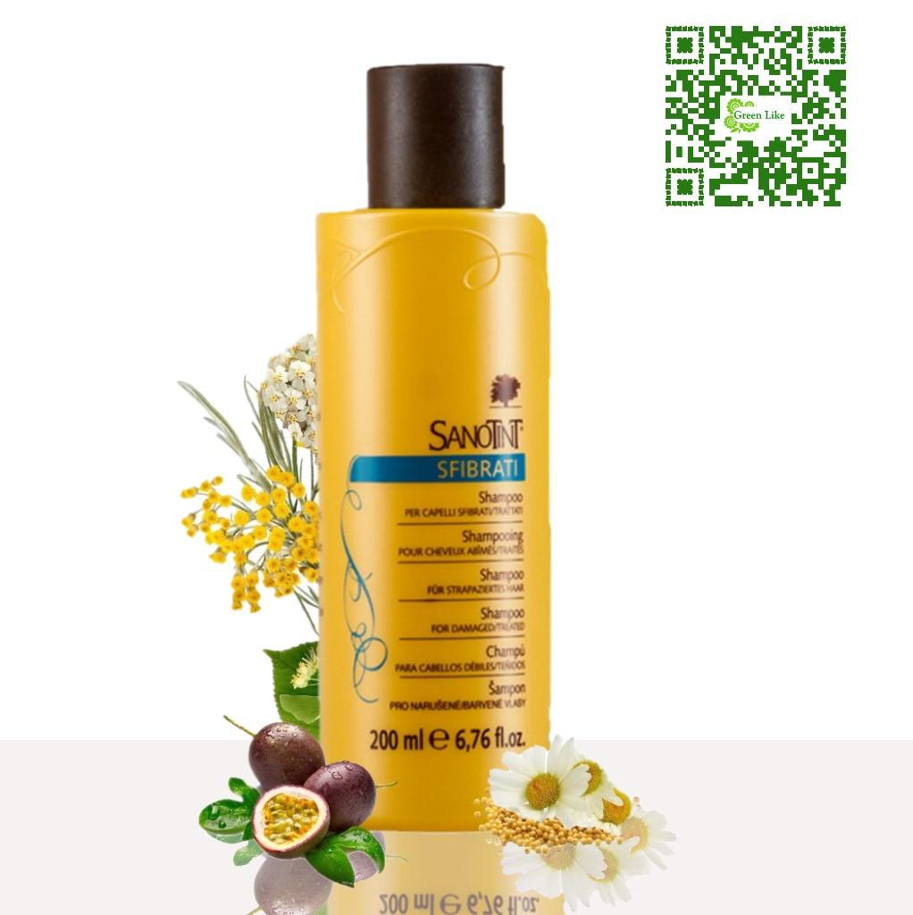 Шампунь для поврежденных волос SanoTint Вивасан, Швейцария