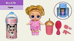 Герої Bela Dolls BL1170 (36шт) лялька 25 см в капсулі , світло, музика, р-р капсули 14,5*28,3*14,5 см, у