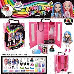 Ігровий набір лялька BELA DOLLS SURPRISE BL1174 (16шт)шафа для одягу серії fashion dolls,кукла17,5см