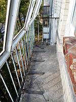 Усиление парапета при остеклении балкона в Киеве - компания Окна Маркет 066 777-31-49