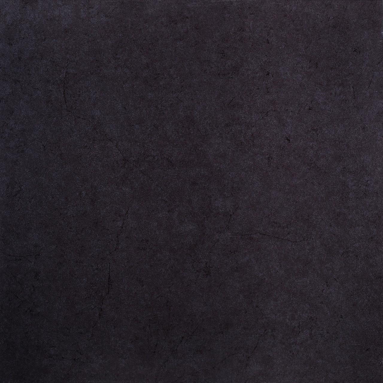 Керамогранит лапатированый чёрный 60х60