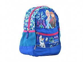 Рюкзак дошкільний 1 Bересня Frozen K-20 1 відділення, 3 кишені 29 х22х15,5 см 555375