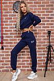 Костюм женский 119R347 цвет Темно-синий, фото 2