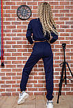 Костюм женский 119R347 цвет Темно-синий, фото 3