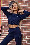 Костюм женский 119R347 цвет Темно-синий, фото 4