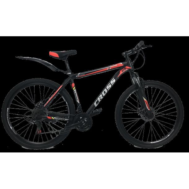 """CROSS Велосипед Cross Street 29"""" 20"""" Черный-Красный"""