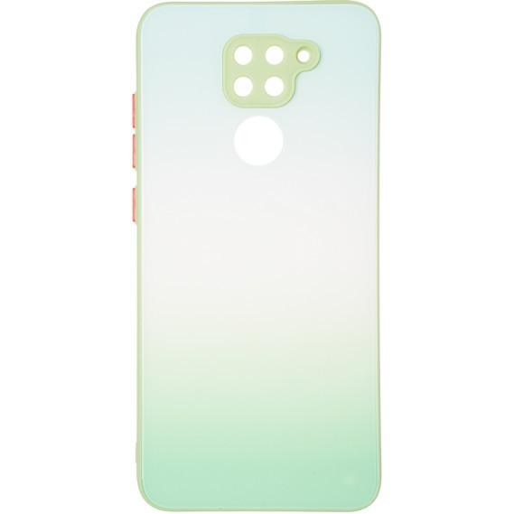Чехол Glass Rainbow Case для Xiaomi Redmi Note 9