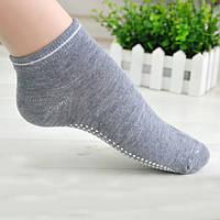 Носки для йоги и танцев со стопором на подошве, хлопок, фото 1
